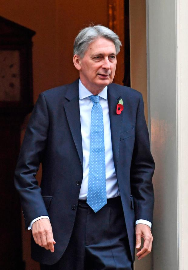 British Chancellor Philip Hammond turned Project Fear into Project Hope. Photo: PA