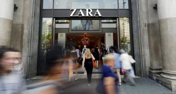 Zara clothes will be available online in 202 countries. Photo: Reuters