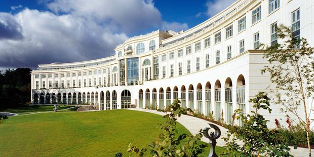 Visitors: The Powerscourt Hotel in Co Wicklow recorded occupancy levels of over 70pc