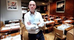 Cookin' up a storm: Dylan McGrath has also appeared as a judge on RTE's version of 'MasterChef'