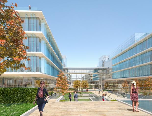 Commended: SISK won two awards last night. SISK Group member John Sisk & Son has been awarded the contract to build Fibonacci Square at Facebook's new European headquarters in Ballsbridge