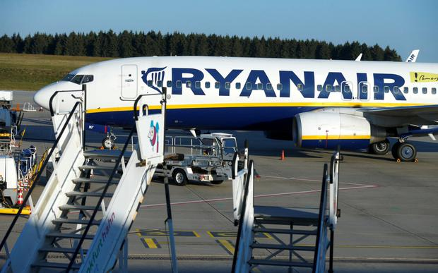 Ryanair clashed with the EC