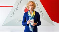 Anne O'Leary, CEO of Vodafone Ireland.