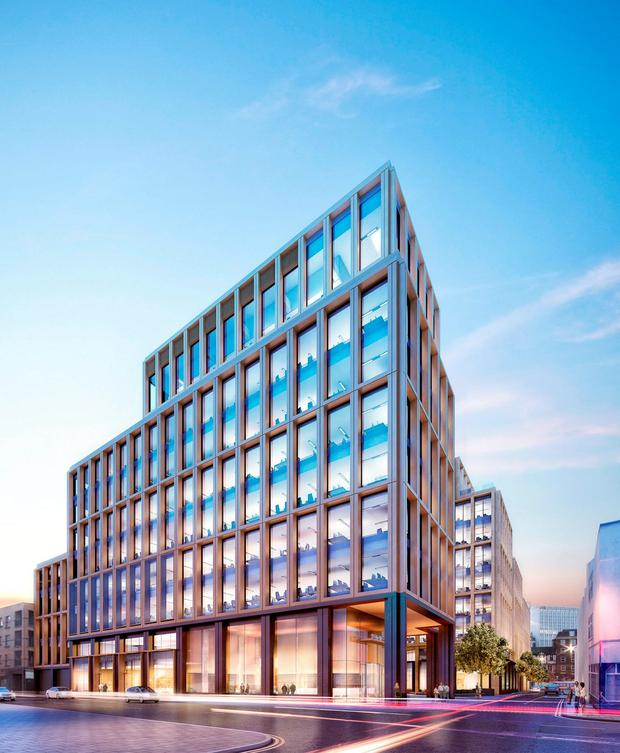 Done deal: Developer Pat Crean's Marlet Property Group is understood to have agreed the purchase of the 0.72 acre site in recent days. The price being paid equates to over €55m per acre