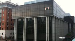 One Southwark Bridge, the current home of the FT