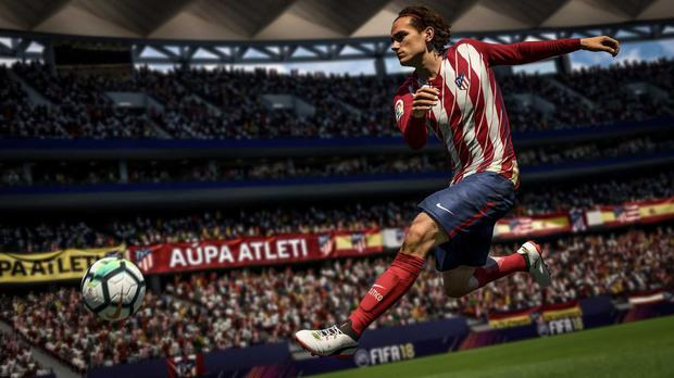 Popular: Fifa 18, the latest in the football series
