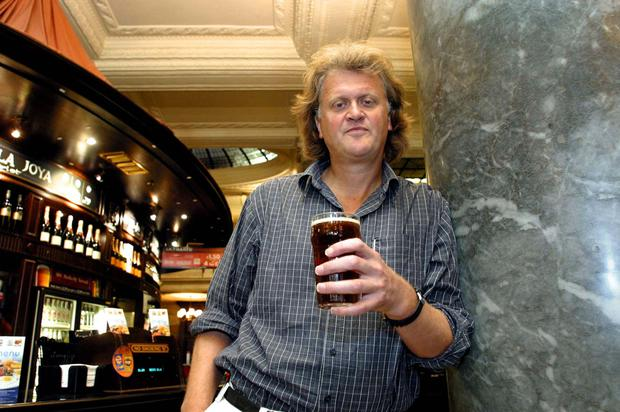 Growing: Wetherspoon chairman Tim Martin is keen to build on the chain's five pubs in Ireland