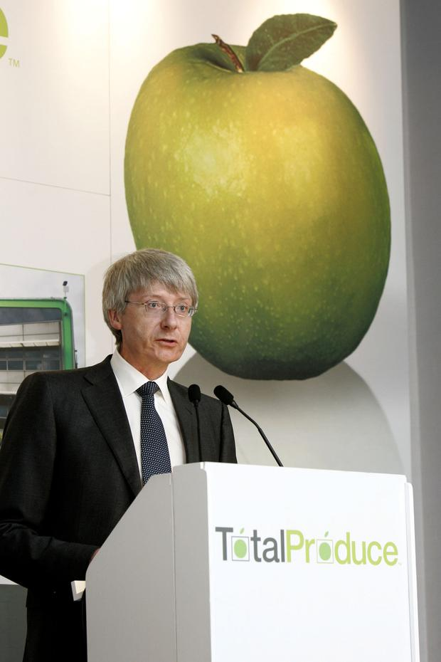 Slice of the market: Total Produce, chaired by Carl McCann, acquired 45pc of Dole in February