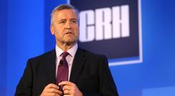 Savings: CRH, headed by CEO Albert Manifold, plans to cut €100m in structural costs