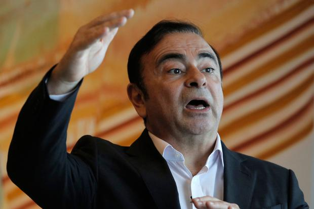 Accused: Carlos Ghosn was arrested in Japan on Monday