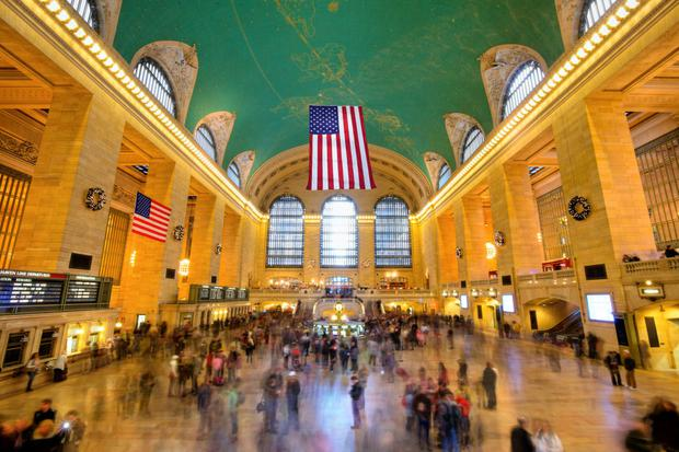 Sale of the century: The iconic Grand Central Station has been sold for in the region of US$35m, a sum that stems from the terms of a centuries-old lease