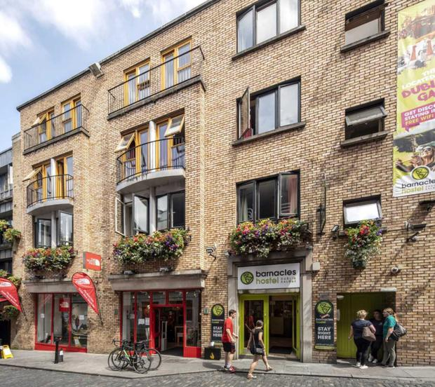 Prime location: Barnacles Hostel Dublin is situated at the heart of Temple Bar