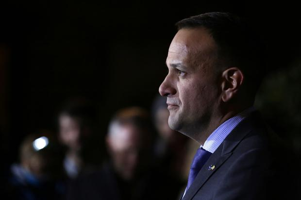 Tax row: Taoiseach Leo Varadkar intervened on flat-rate expenses and declared that no one would be affected by changes until 2020 – 'if at all'. Photo: Damien Eagers / INM