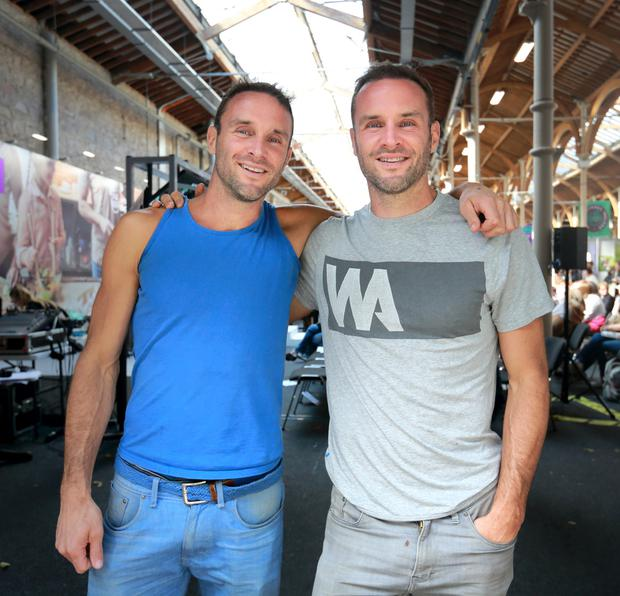 Empire building: Brothers David and Stephen Flynn have expanded their business in recent years