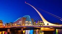 The Convention Centre, Dublin where Sunday's Euro 2020 qualifying draw will take place