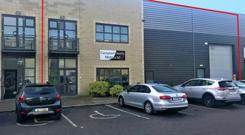 To let: Unit D2, Airton Business Park offers ready access to the M50