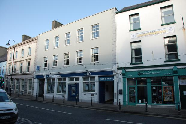 For sale: BoI's premises at 59 Main St, Loughrea, Co Galway