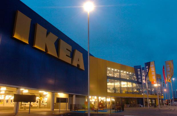 Ikea's large out-of-town stores have become less popular. Photo: PA
