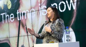 Time for action: Grainne Wafer, global brand director for Baileys at Diageo, said brands need to accelerate the pace of change to combat gender stereotyping in adverts