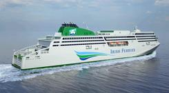 Delayed: The WB Yeats is now due for delivery in December