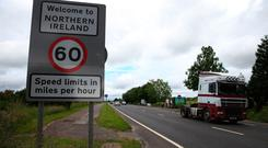 'At the centre of their ire is the backstop, the guarantee of no hard Border on the island of Ireland.' Stock image