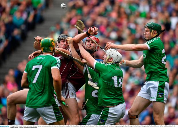 Decisions: Hawk Eye is a key part of top GAA matches, including the recent All Ireland hurling final between Galway and Limerick