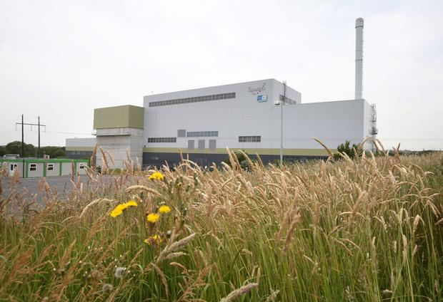 Indaver's incinerator in Meath