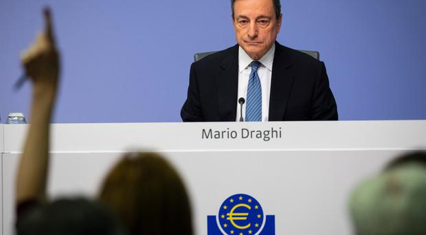 It hasn't gone away: Although President Mario Draghi said QE is over, the ECB will continue to provide stimulus to the eurozone