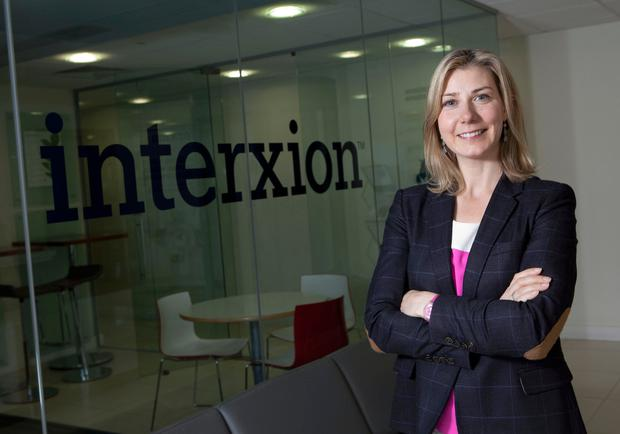 Data giant: Tanya Duncan, head of the Irish unit of Interxion, which has centres in 11 countries