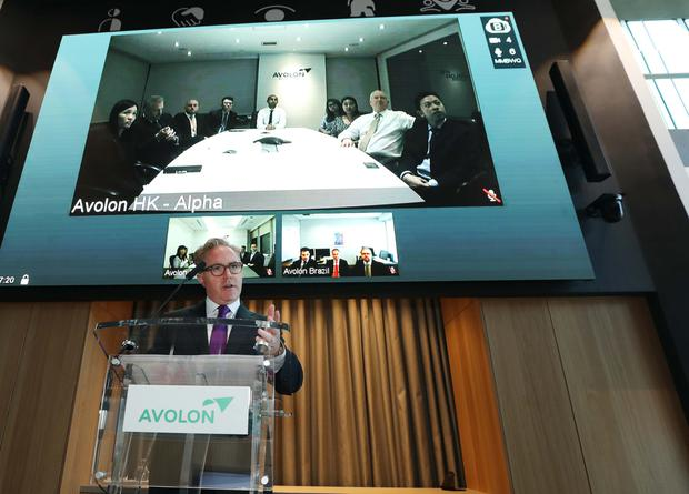 Pay boost: Avolon boss Dómhnal Slattery's take-home took off last year