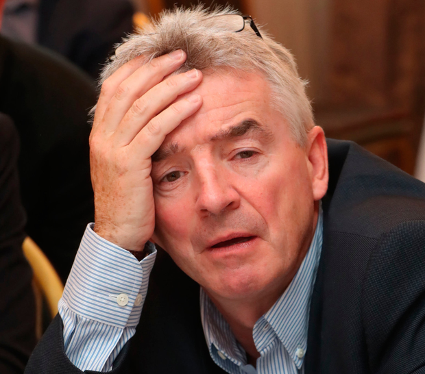 Ryanair boss Michael O'Leary has had it tough. Photo: PA