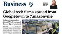 First with the news: Exclusive story of Amazon and WeWork's deal inJuly. Bottom, the Apollo House development