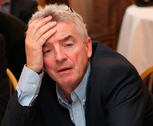 Tough at the top: Ryanair CEO Michael O'Leary endured a challenging year. Photo: PA