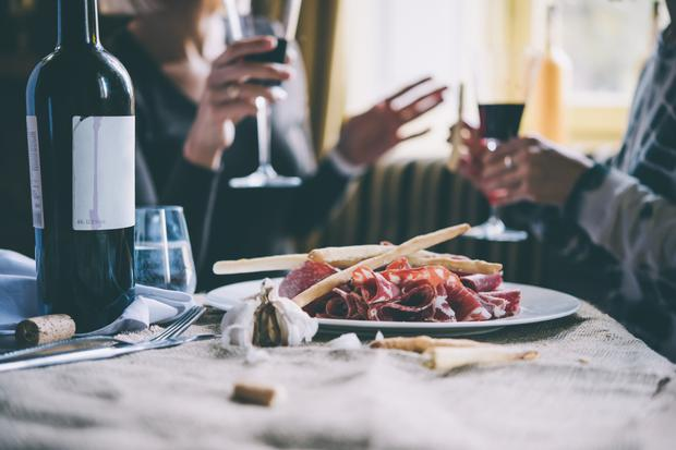Counting the cost: The Department of Finance has pointed out a €50 bill for a meal with a €10 bottle of wine would only increase by €1.65, but many restaurants are operating on thin margins. Stock image