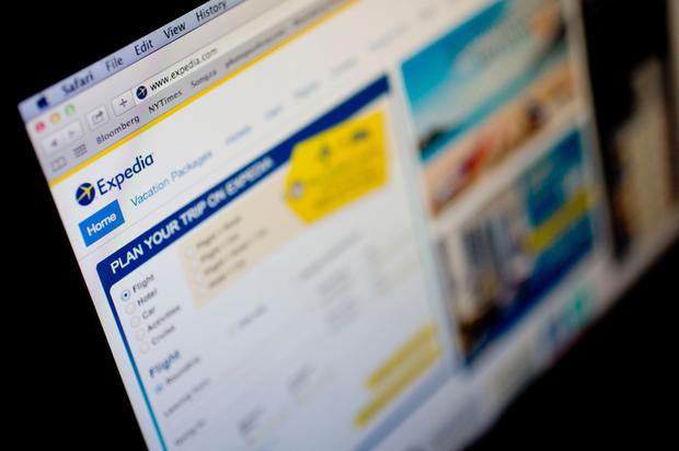 Digital row: Expedia has been accused of 'screen-scraping'. Photo: Bloomberg