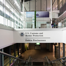 The US pre-clearance facility in Dublin Airport