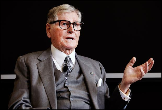 Support: Dr Michael Smurfit, the founding benefactor of the UCD Michael Smurfit Business School