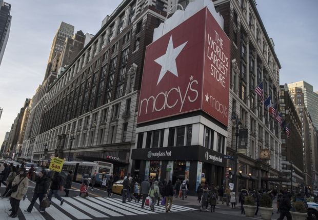 'There was a possible sighting of her long-dead husband in Macy's of New York by Irish shoppers.' Photo: Bloomberg