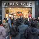 Embattled: Debenhams operates 11 outlets in Ireland, including on Dublin's Henry Street