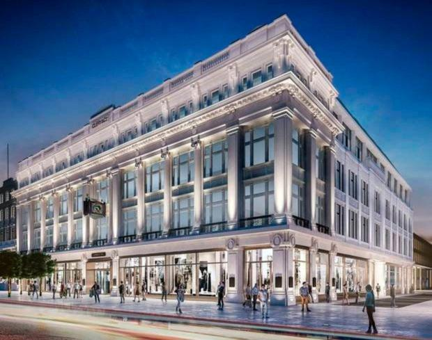 New lease of life: Clerys premises is set for a transformation