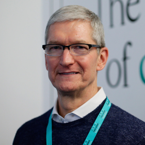 Apple chief executive Tim Cook. Photo: PA