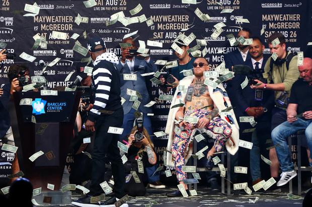Conor McGregor is making a lot of money