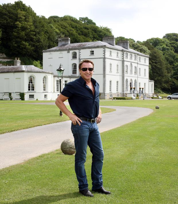 Palatial: Michael Flatley's Castlehyde home in Cork