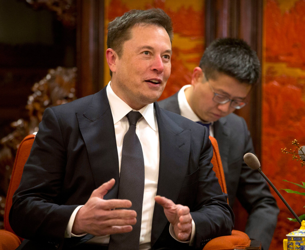 "Tesla founder Elon Musk hopes selling Model 3s in Europe and Asia will result in a ""tiny profit"". Photo: AP"