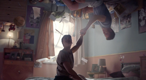 Three's new ad, called Bedroom
