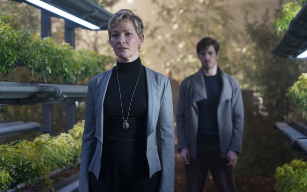 Production credit: 'Nightflyers' was made at Troy Studios