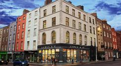 Pride of place: 1 Capel Street, which overlooks Grattan Bridge, is one of eight Dublin city properties acquired to date by Danoj Developments