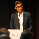 Fined: Google, headed by CEO Sundar Pichai, was recently hit with a €50m penalty for violating Europe's expansive new privacy rules. Photo: Reuters