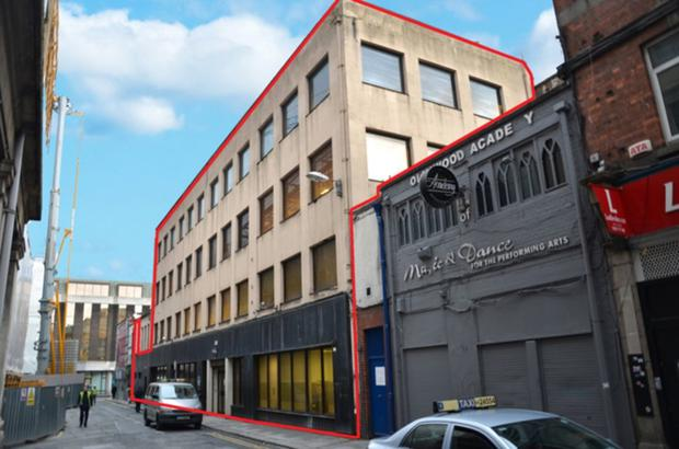 Potential: 6-12 Sackville Place sits beside the proposed Clerys Quarter