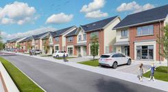 An artist's impression of the Singland development in Castletroy